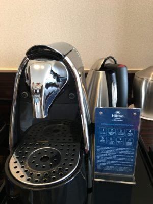 ヒルトンコーヒーメーカー