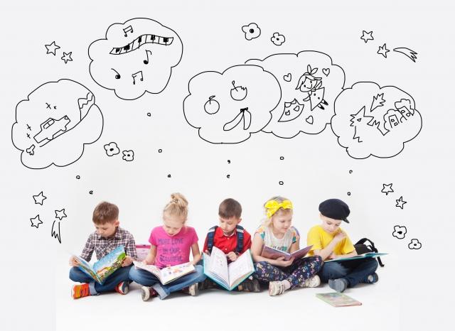想像力をアップするには幼児からの教育が大切です
